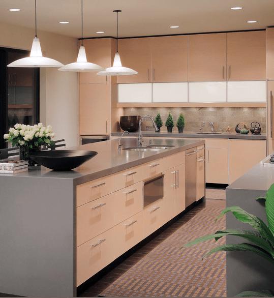 Disenos De Cocinas En Colores Claros Arkipluscom - Colores-de-cocina