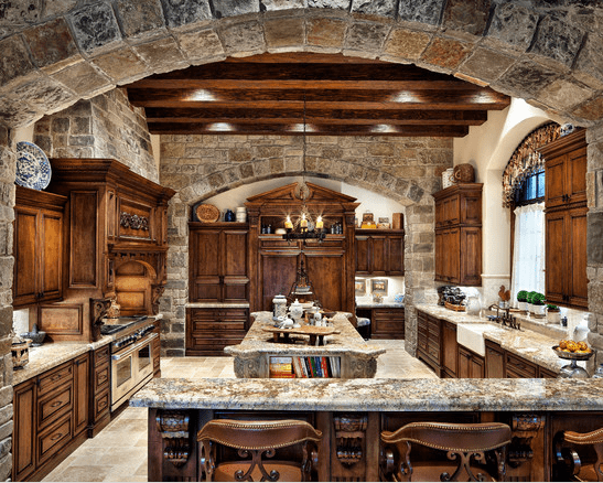 20 dise os de cocina estilo mediterr neo - Muebles estilo mediterraneo ...