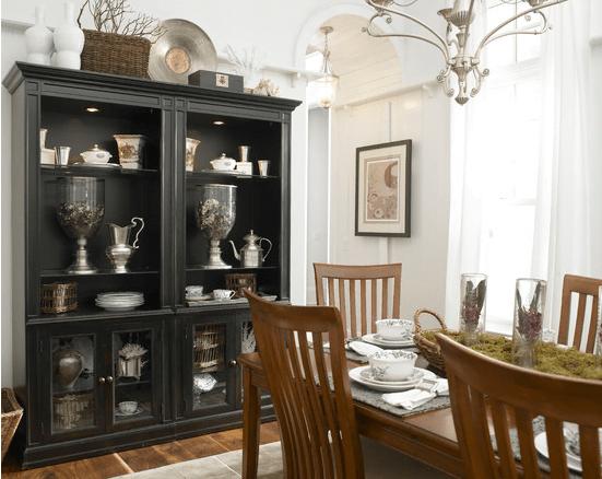 Estilo vintage de decoraci n for Comedor vintage moderno