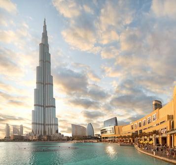 Burj Khalifa, la edificación más alta del mundo