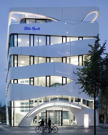 Fachadas modernas de edificios for Fachadas de edificios modernos
