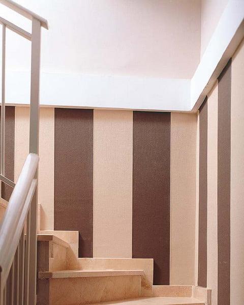 25 ideas para decorar paredes con rayas - Arkiplus.com
