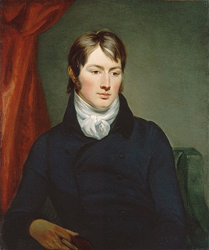 Retrato de Constable en 1799 pintado por Ramsey Reinagle.