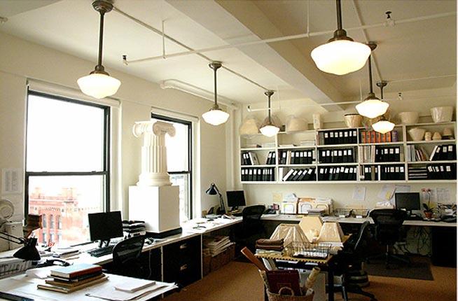 Oficinas modernas creativas y peque as for Decoracion de oficinas creativas