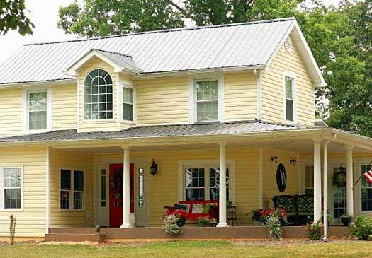 porche abarcativo el wrap around porch americano que recorre toda la casa - Porche Casa