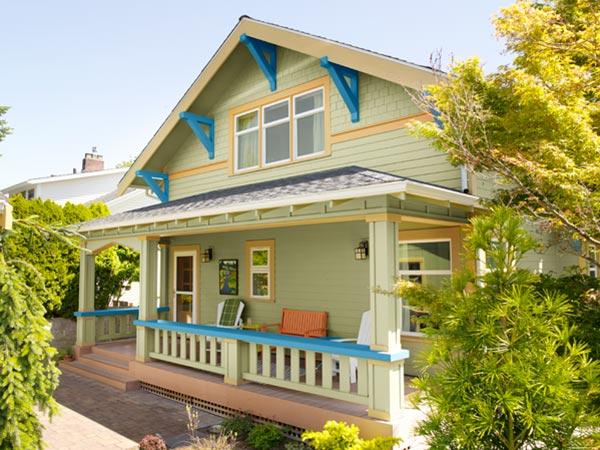 11 tipos de porches para casas Casas pequenas con porche