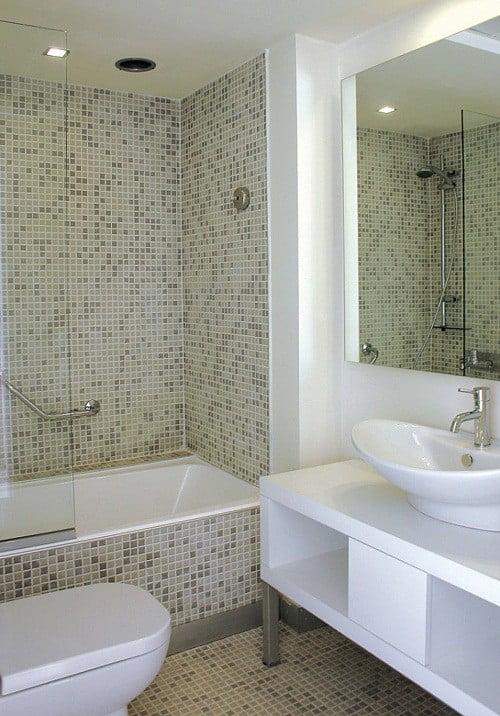 Baños modernos y sencillos - Arkiplus.com