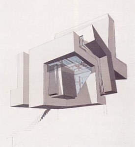 Peter Eisenmann - Guardiola House (1988)
