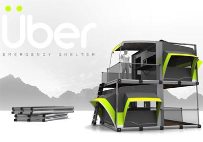 Uber shelter