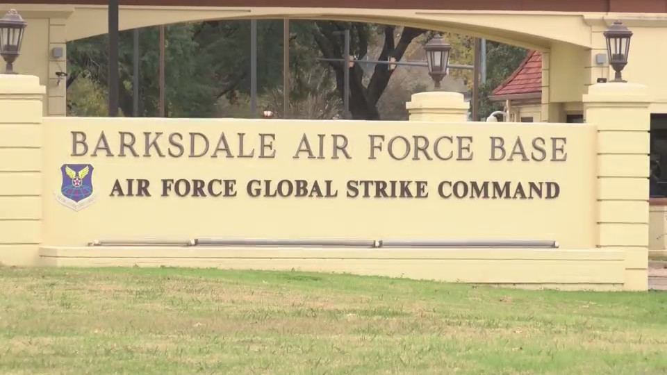 New Entrance into Barksdale AFB