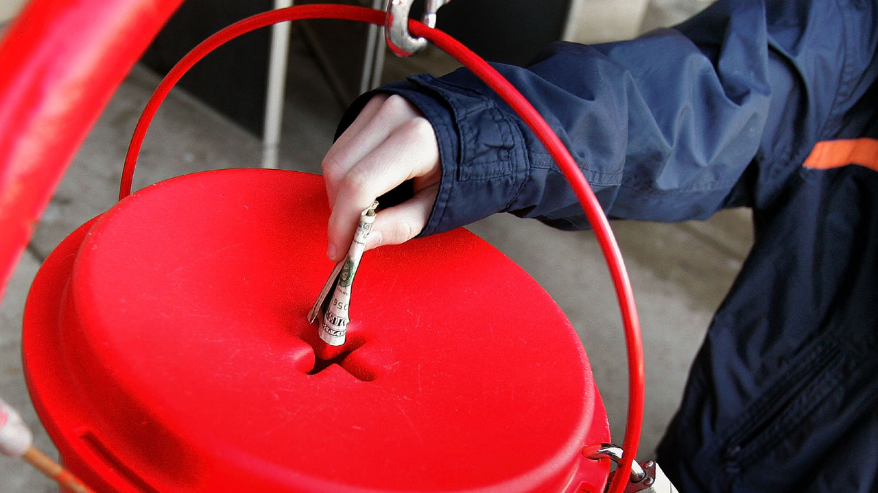 Salvation Army red kettle71752396-159532