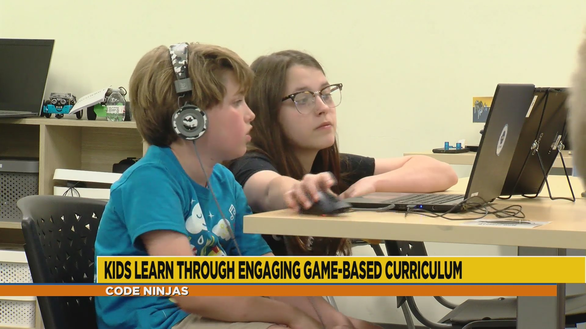 Kids design and build their own apps at Code Ninjas