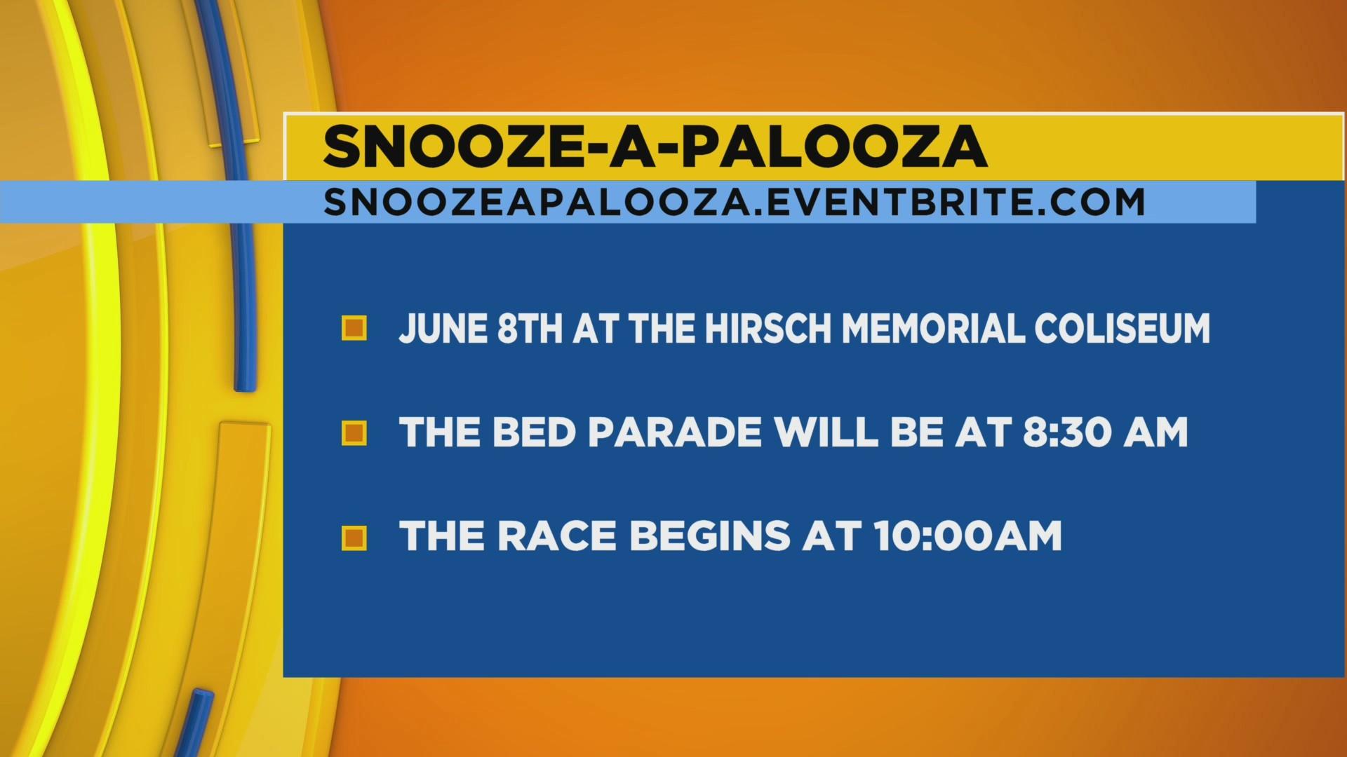 Salvation Army Snooze-a-Palooza Bed Race