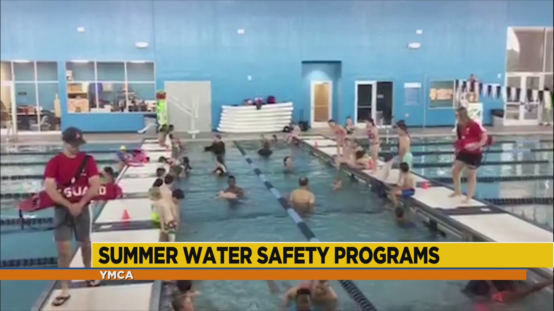 Summer Water Safety Programs with YMCA