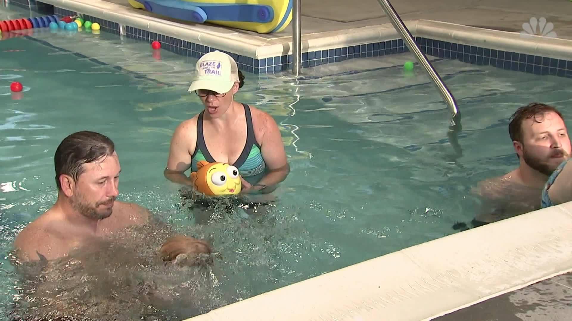 Swimming lessons: The sooner the better