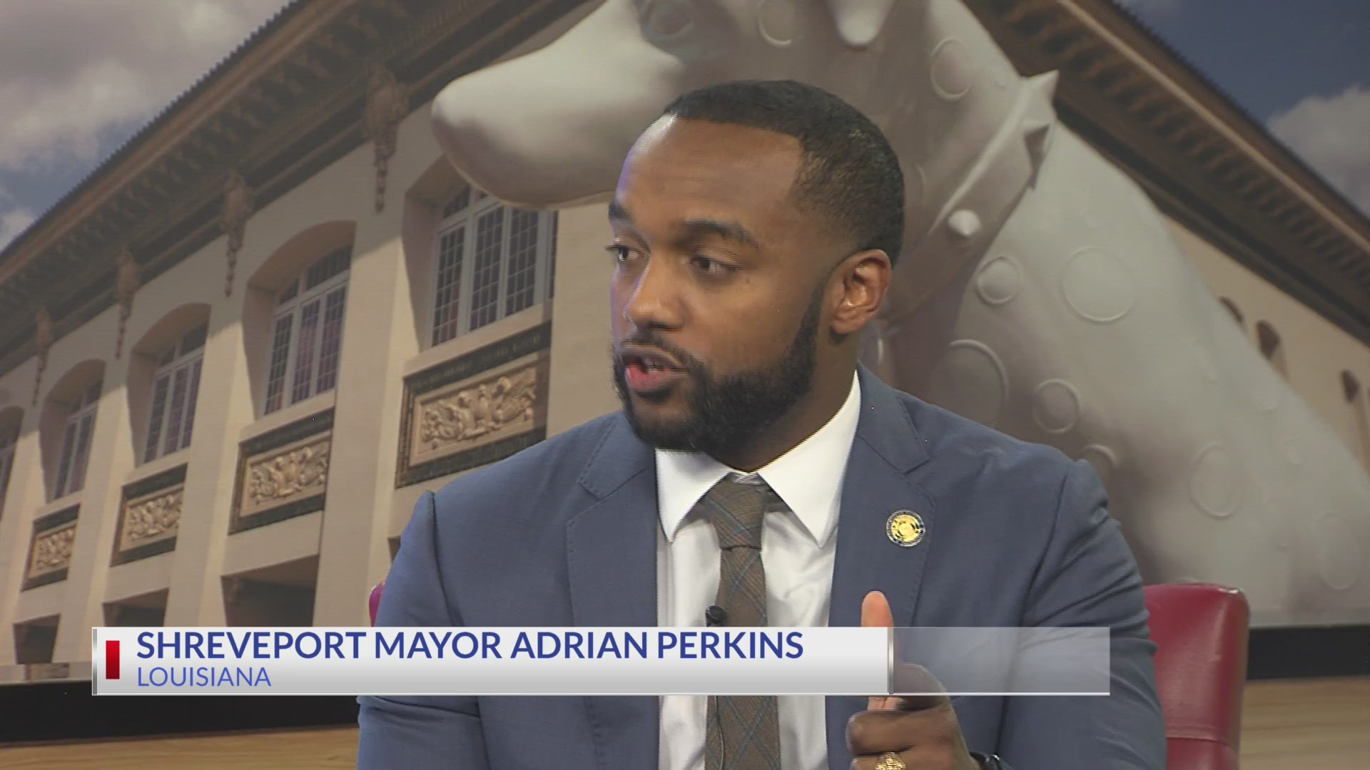 Coffee with the Mayor: Shreveport's Adrian Perkins