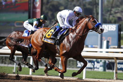 Justify, Bolt d'Oro, Javier Castellano, Mike Smith
