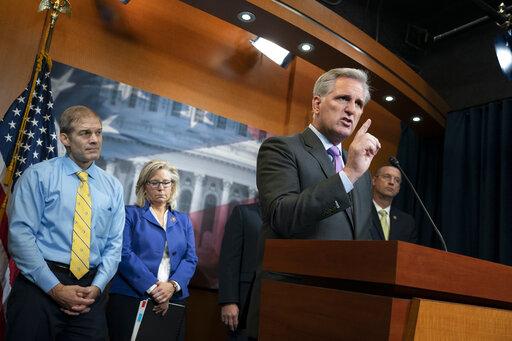 Kevin McCarthy, Jim Jordan, Liz Cheney, Doug Collins
