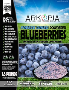 Blueberries Powder - Front - Package - WORKING