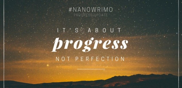 Nanowrimo Progress Update #1