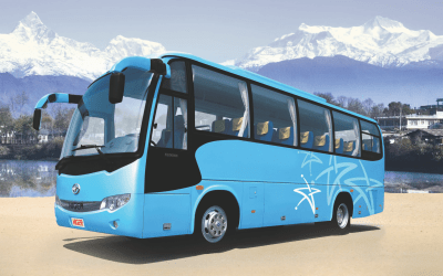 Higer Bus Nepal 33 Seater