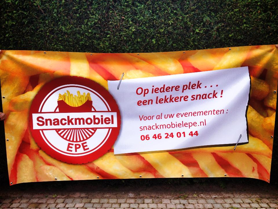 Snackmobile Epe Banner Design