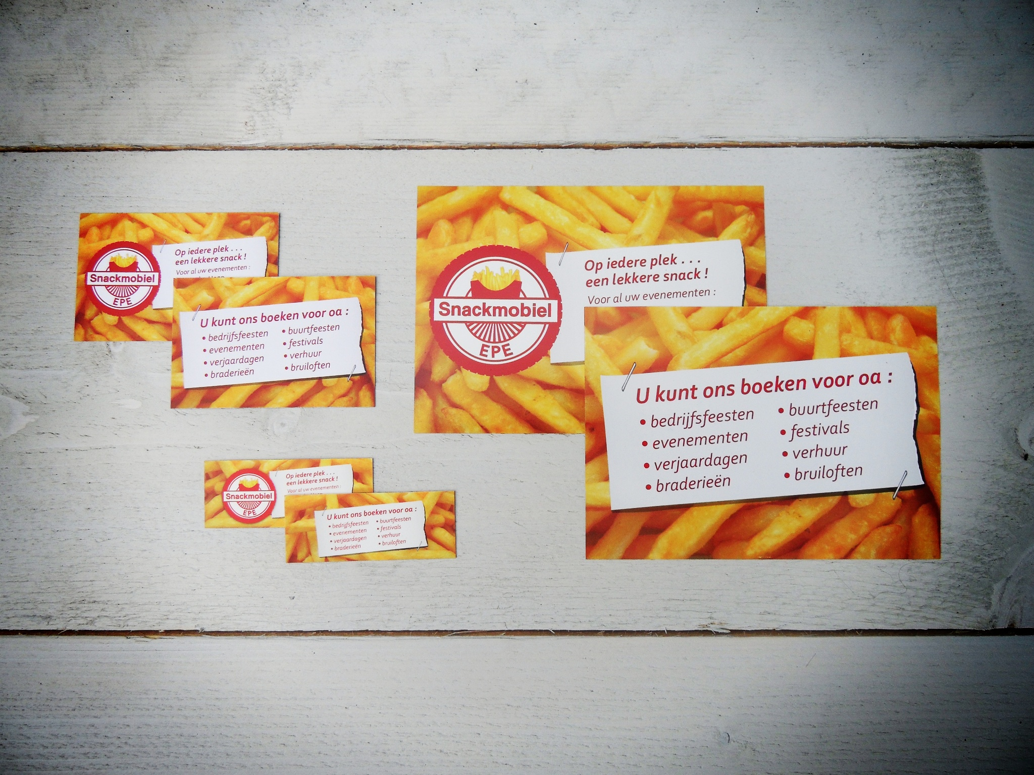 Snackmobile Epe Flyer and Business Card Design