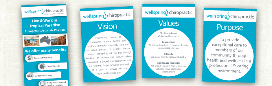 Wellspring Chiropractic Flyer Design
