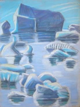 Saqquaq Eisberge
