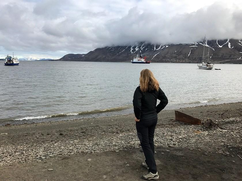 Kerstin Heymach mit Polarstern
