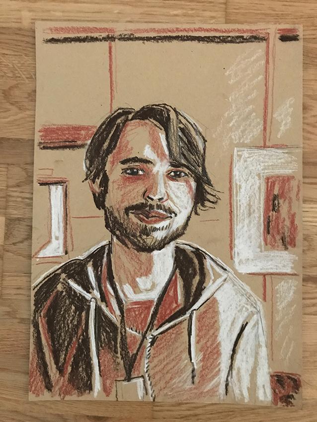 Dmitri Chechin(c)Zeichnung Kerstin Heymach