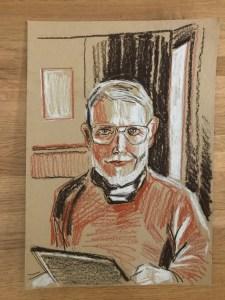 Georg Heygster(c)Zeichnung Kerstin Heymach