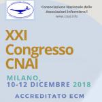 10 -12 dic. XXI Congresso CNAI a Milano