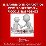 Seminario di primo soccorso rivolto agli educatori dell'oratorio di Biassono