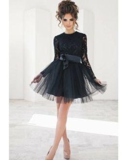 рокля фифи в черно