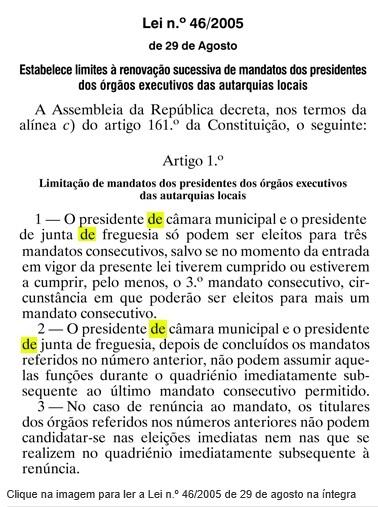 lei 46-2005