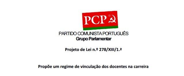 pcp vinculacao