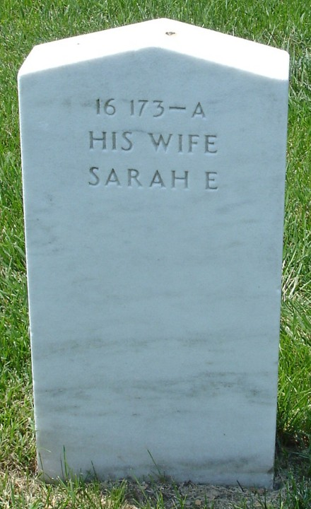 Widow On Grave Arlington National Cemetery