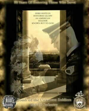 Tomb of the Unknowns POSTER