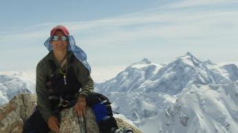 Aschinger climbed for three weeks through up to five feet of fresh snow on the beautiful slopes of Denali. Photo courtesy Hans Aschinger
