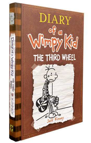 Diary of a Wimpy Kid: The Third Wheel book cover