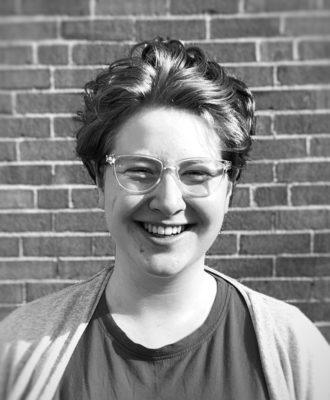 Headshot of author.