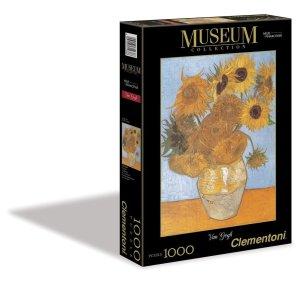 Puzzel van Gogh Zonnebloem Museum Clementoni