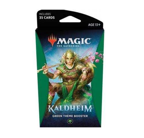 Magic the gathering Kaldheim green theme