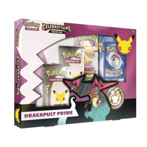 Lelystad Pokémon Celebrations Collection Box Dragapult Prime