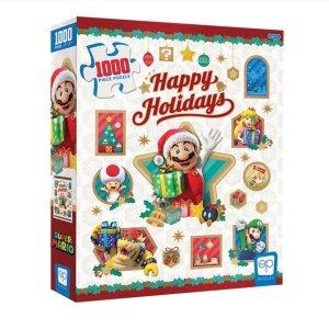 Puzzel Mario Kerst