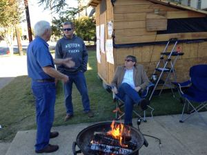 Rob, Robbin, and Charles