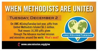 Methodist Giving Tuesday