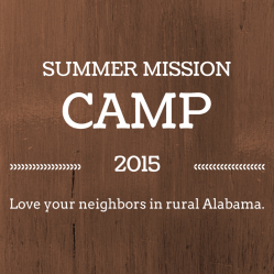 Summer Mission Camp 2015