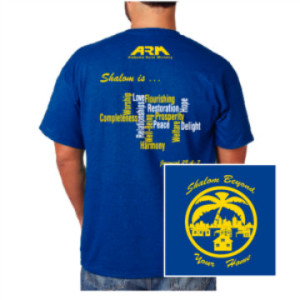 Shalom Beyond Your Home - Youth Mission Camp 2015 Shirt